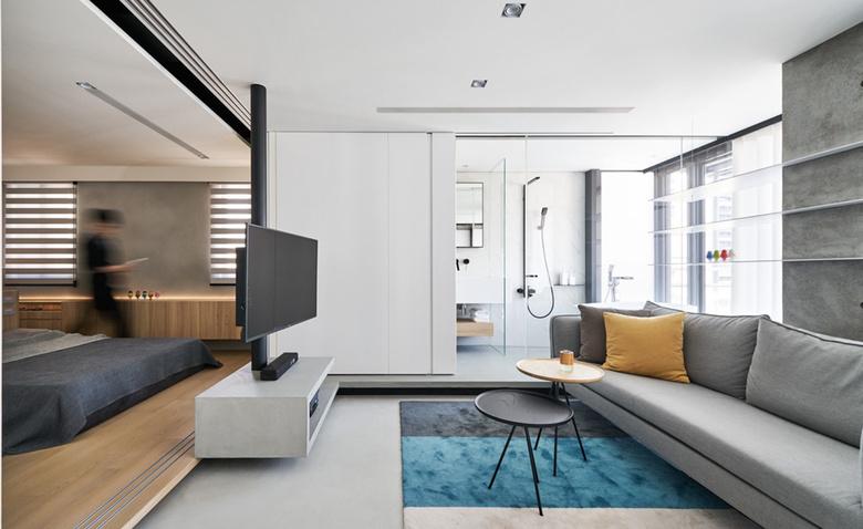 46 кв.м: квартира холостяка в Тайване