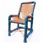 Детский стул из труб
