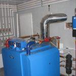 Дымоход для твердотопливного и газового котла