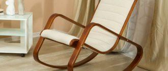 Кресла-качалки: мебельное разнообразие