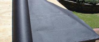 Как отделать крышу рубероидом