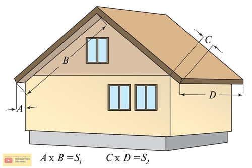 схематический рисунок дома