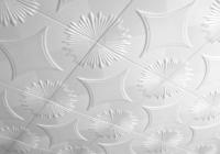 Отделка потолка с помощью полистирольной плитки